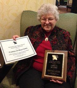Carolyn-MWG-award