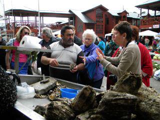Market in Puerto Montt